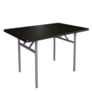 Folding Table Brown 130x130 - Folding Table Orbitrend